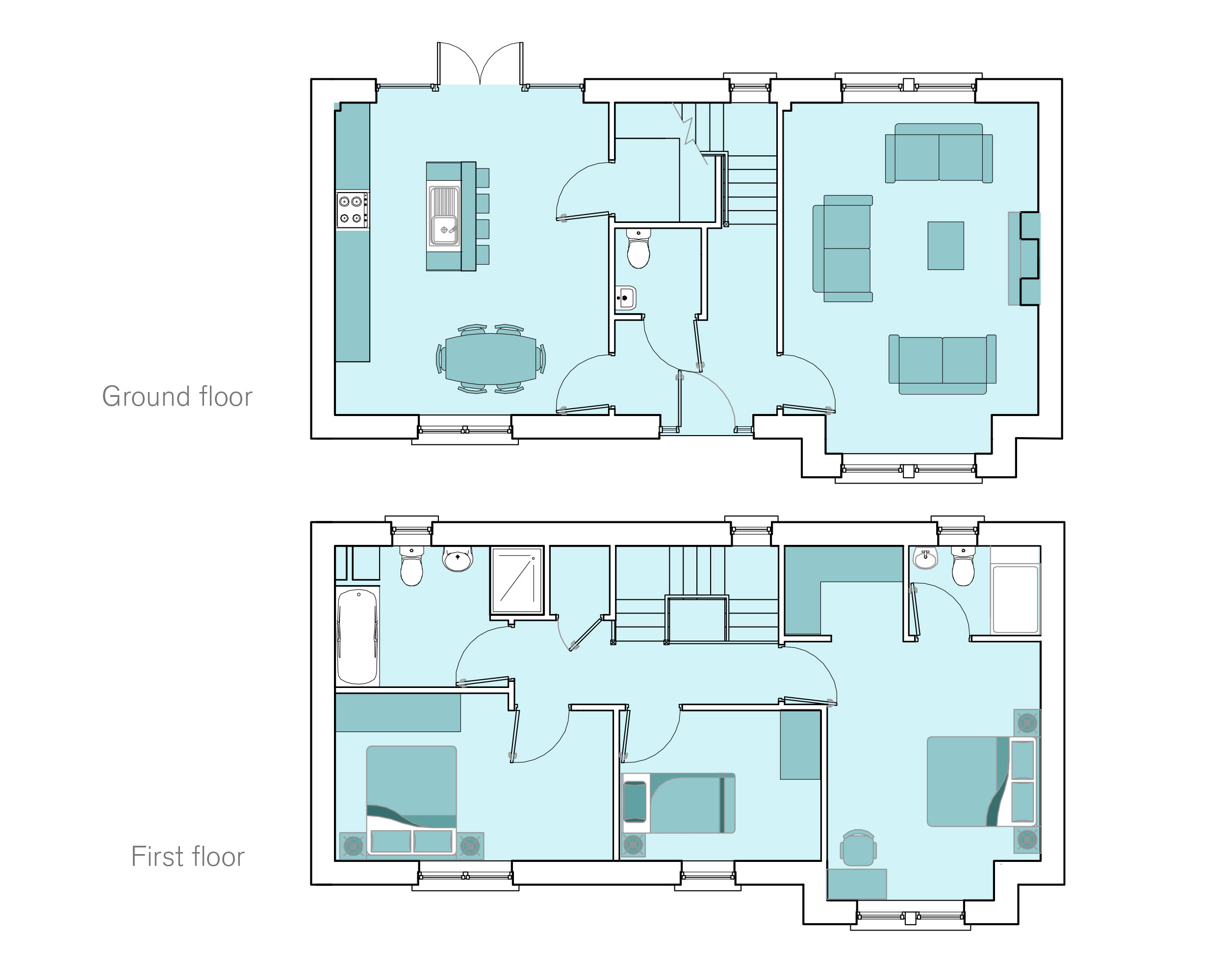 Floor Plan Assistance Mutual Self Help Housing Floor